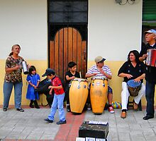 Cotacachi Family Band by Al Bourassa
