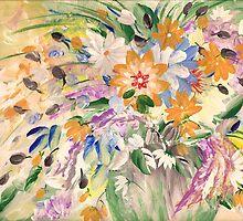 Vase of Flowers by Ginger Lovellette