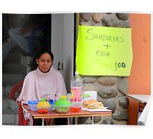 Cotacachi, Ecuador Meal Poster