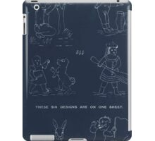 Briggs & Company Patent Transferring Papers Kate Greenaway 1886 0232 Inverted iPad Case/Skin