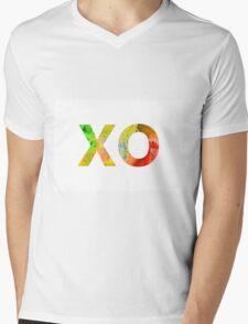 Watercolor alphabet minimalist painting Mens V-Neck T-Shirt