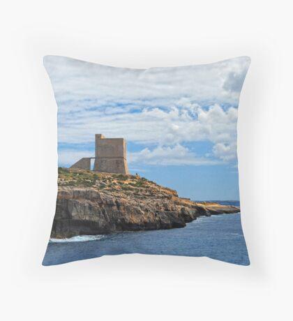 Watch Tower Throw Pillow
