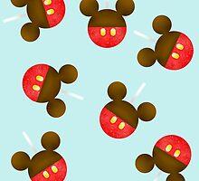 Mickey Apple | Disney Foodz by EHanesCreations