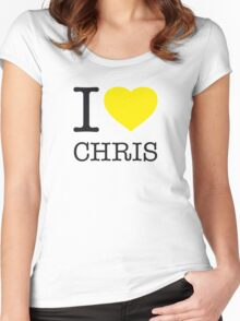 I ♥ CHRIS Women's Fitted Scoop T-Shirt