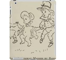 Kate Greenaway Collection 1905 0159 Skit in the Manner iPad Case/Skin