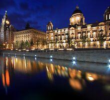 Graceful reflection, Liverpool by Ian Moran