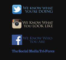 The Social Media Tri-Force Unisex T-Shirt