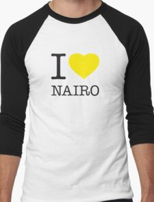I ♥ NAIRO Men's Baseball ¾ T-Shirt