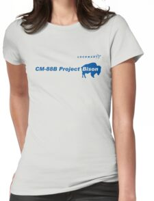 Lockmart Project Bison Womens Fitted T-Shirt