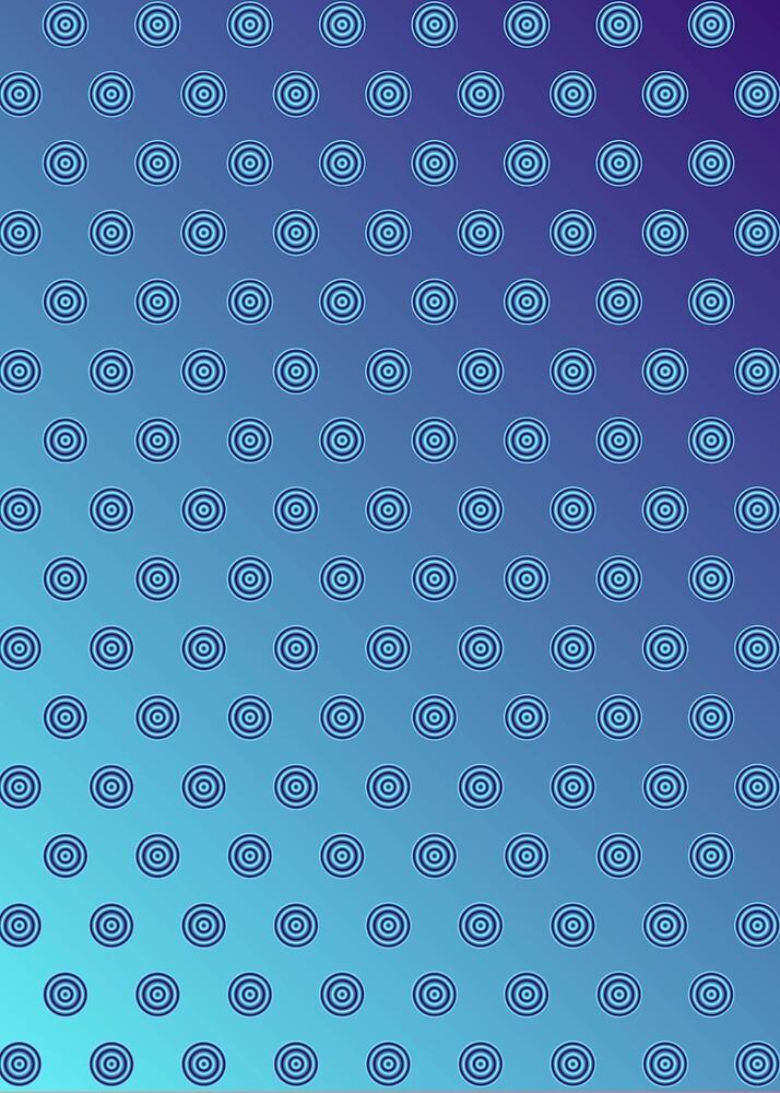 Polka Dot Blue by Medusa81