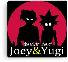 The adventures of Joey & Yugi Canvas Print