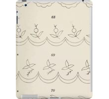 Briggs & Company Patent Transferring Papers Kate Greenaway 1886 0015 Floral and Fruit iPad Case/Skin