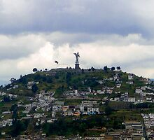 Virgen De El Panecillo II, Quito, Ecuador by Al Bourassa