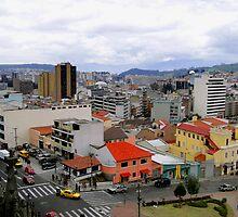 Quito Skyline by Al Bourassa