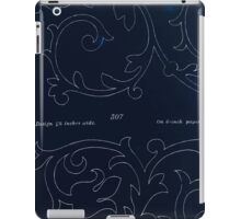 Briggs & Company Patent Transferring Papers Kate Greenaway 1886 0068 Inverted iPad Case/Skin
