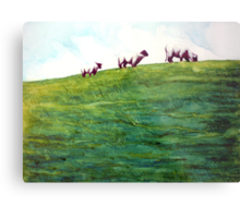 More Sheep Sprinkles Metal Print