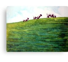 More Sheep Sprinkles Canvas Print