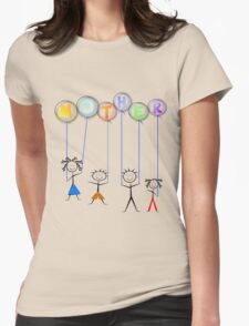 Mother's Day Balloons Womens Fitted T-Shirt