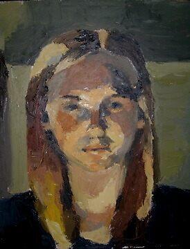 self-portrait by christym