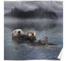 Spirit Otter Poster