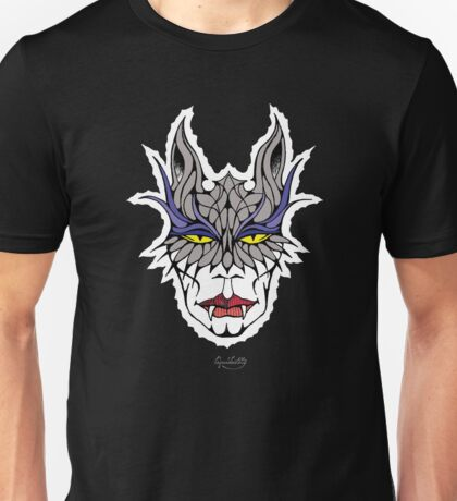 Vampire Cat Woman Unisex T-Shirt