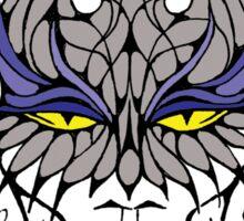 Vampire Cat Woman Sticker