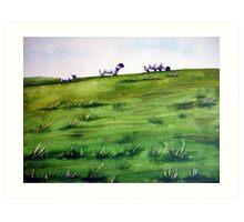Sheep Sprinkles Art Print