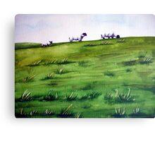 Sheep Sprinkles Canvas Print