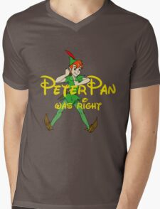Peter was right Mens V-Neck T-Shirt