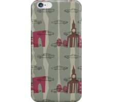 1950s Car Pattern - Version No.1 iPhone Case/Skin