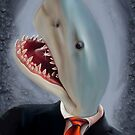 Mr. Shark Head by mdkgraphics