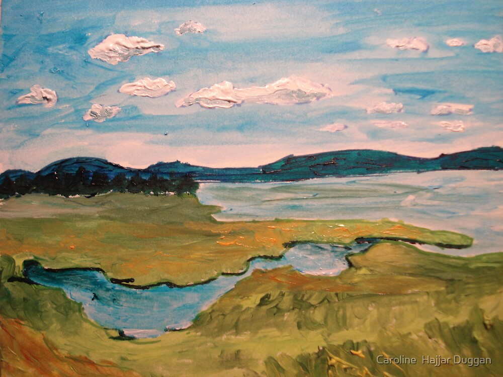 View From Plum Island by Caroline  Hajjar Duggan