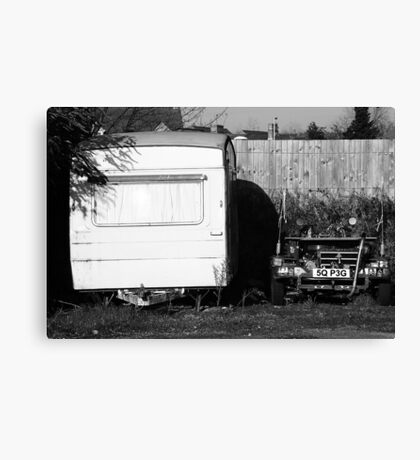 Home And Ride Canvas Print