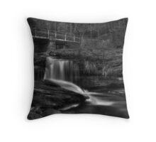 Bridge and Ricochet Falls Throw Pillow