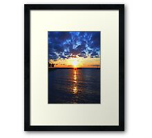 Sunrise © Framed Print