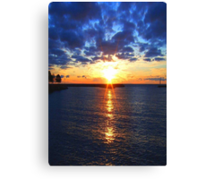 Sunrise © Canvas Print