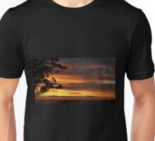 SUNRISE OVER THE ROOFTOPS Unisex T-Shirt