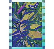 Garden Abstract Collage Photographic Print