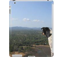 Wild Dog Enjoying Views iPad Case/Skin