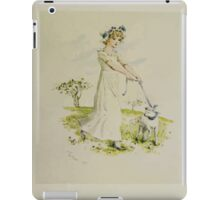 Kate Greenaway Collection 1905 0143 Mary Had a Little Lamb iPad Case/Skin