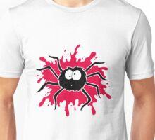 Spider Splat - Red Unisex T-Shirt