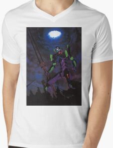 Eva 01 Mens V-Neck T-Shirt