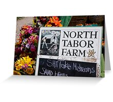 North Tabor Farm Stand Greeting Card