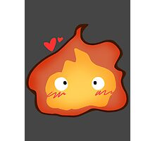 Calcifer Photographic Print