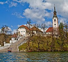 Bled Island. Slovenia by vadim19