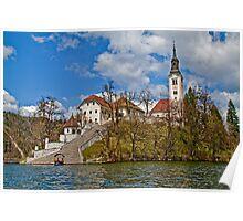 Bled Island. Slovenia Poster