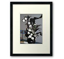 """""""flying nun"""" Framed Print"""