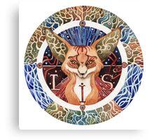 - Totem Fox - Canvas Print
