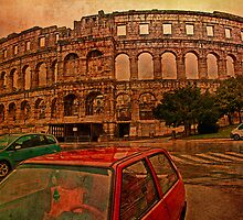 Roman Amphitheater. Pula. Croatia by vadim19