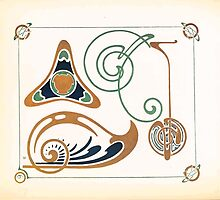 Maurice Verneuil Georges Auriol Alphonse Mucha Art Deco Nouveau Patterns Combinaisons Ornementalis 0005 by wetdryvac